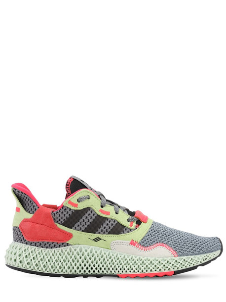 ADIDAS ORIGINALS Zx 4000 4d Sneakers in black / grey