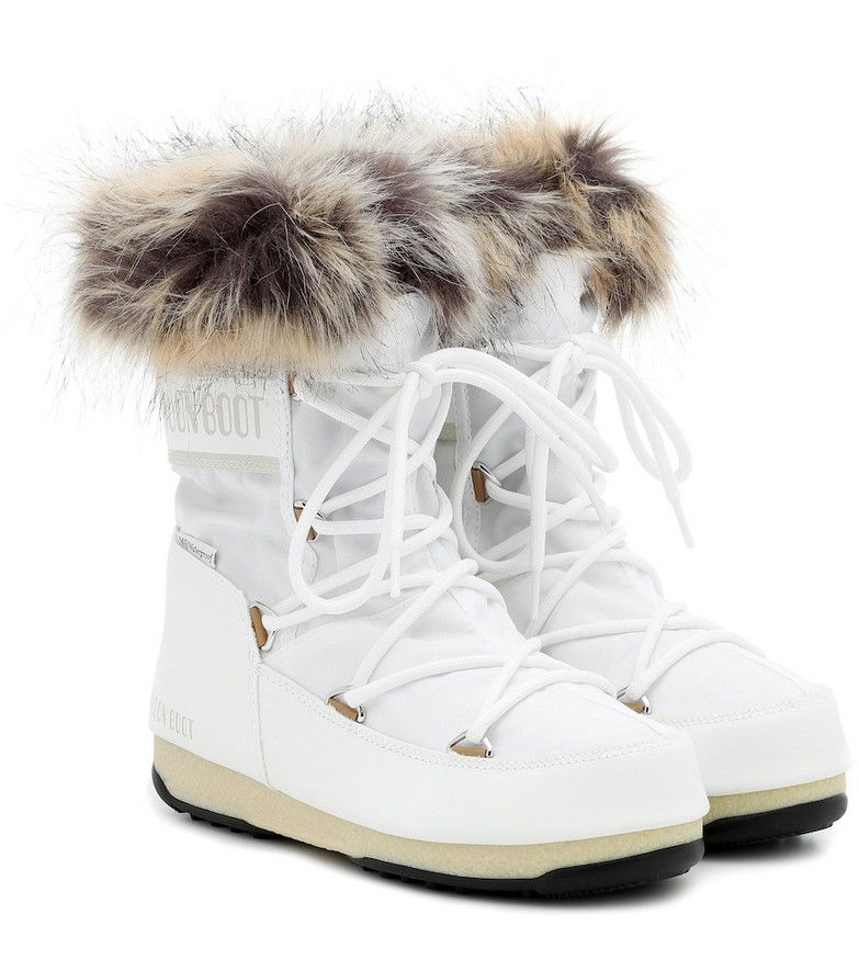 Moon Boot Monaco Low WP 2 snow boots in white