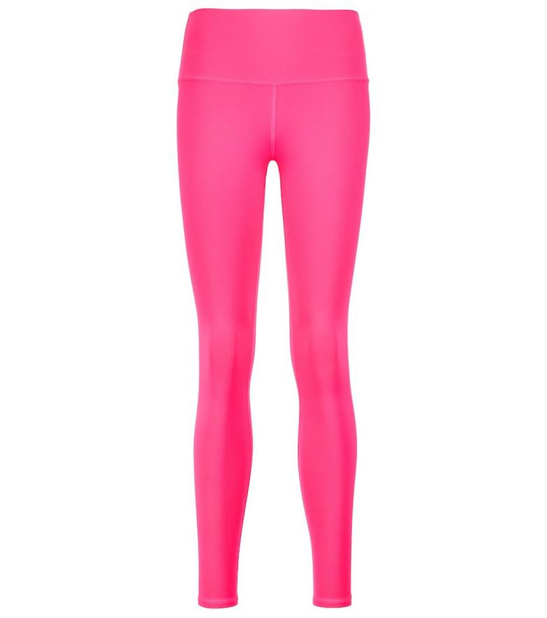 Alo Yoga Airbrush high-rise leggings in pink