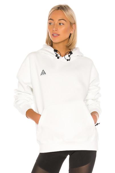 Nike NRG ACG PO Hoodie in white