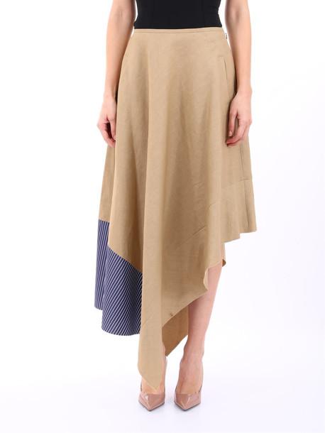Loewe Bimaterial Skirt