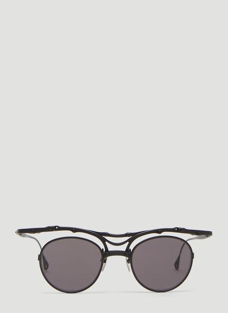 Innerraum OJ1 Round Sunglasses in Black size One Size