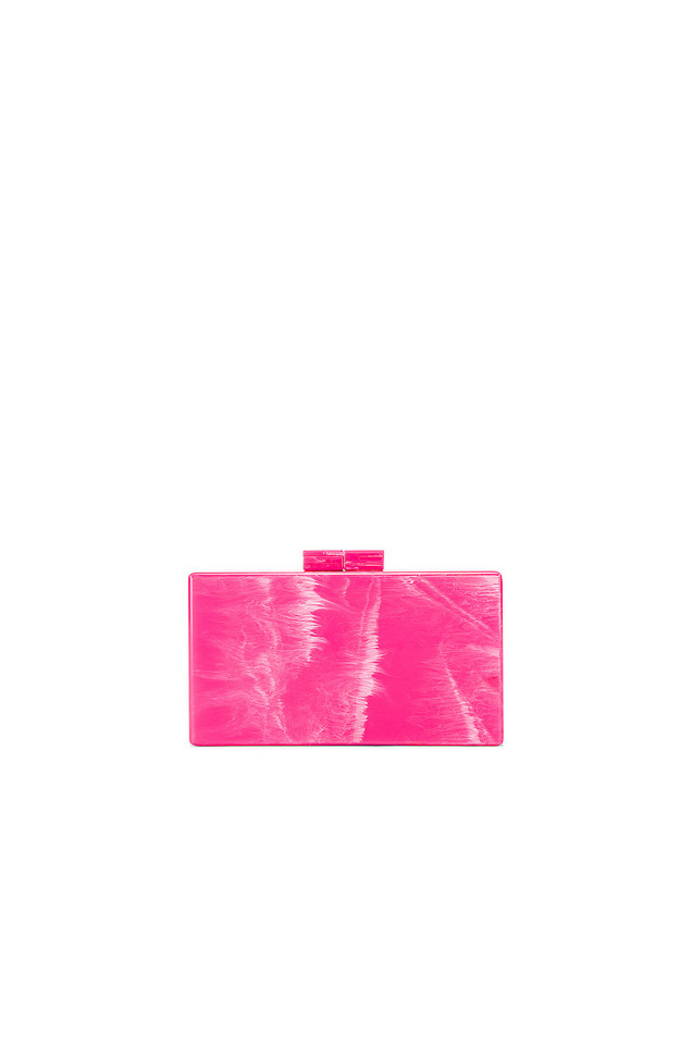 Amber Sceats Box Clutch in pink