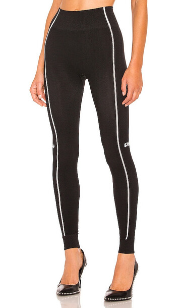 OFF-WHITE Athletic Seamless Leggings in Black