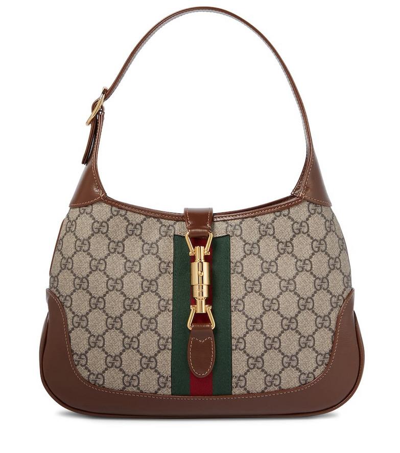 Gucci Jackie 1961 Small GG Supreme shoulder bag in beige