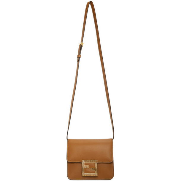 Fendi Brown Forever Fendi Fab Bag