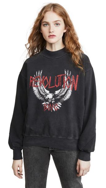 ANINE BING Revolution Sweatshirt in black