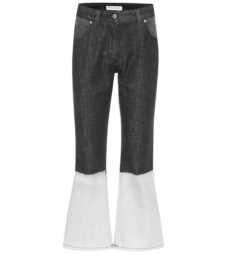 JW Anderson High-rise flared jeans in blue