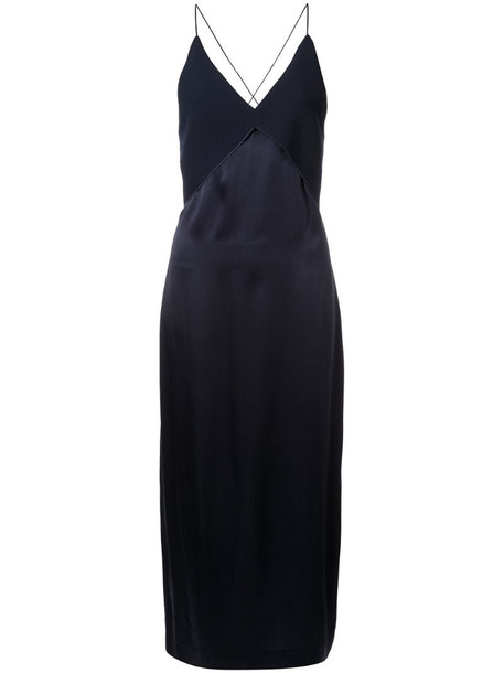 Dion Lee Transfer cami dress in blue