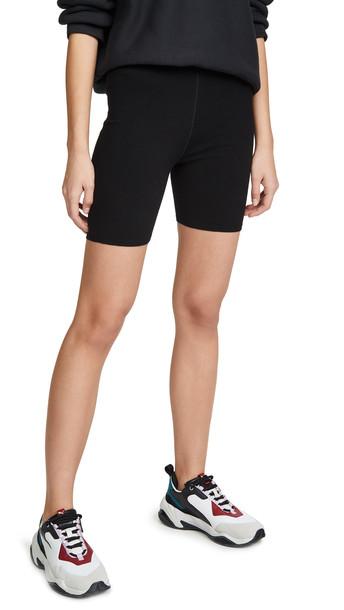 alexanderwang.t Foundation Bodycon Bike Shorts in black