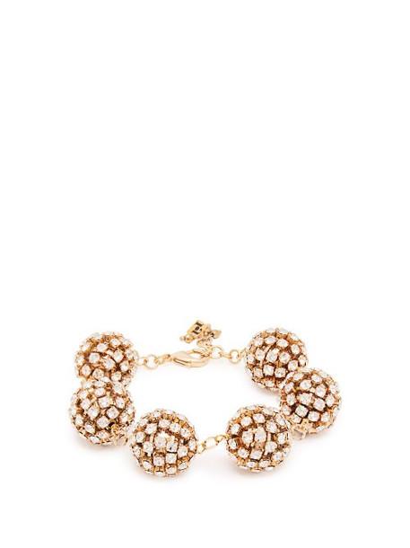 Rosantica By Michela Panero - Crystal Embellished Bracelet - Womens - Silver