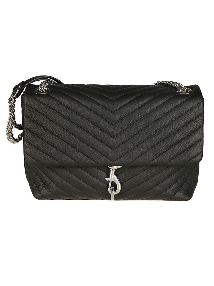 Rebecca Minkoff Edie Shoulder Bag in black