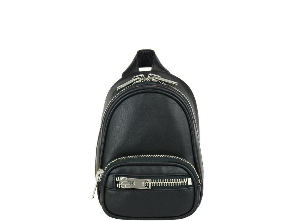 Alexander Wang Mini Attica Backpack in black