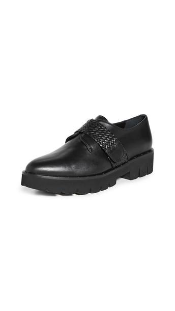 Freda Salvador Zaya Lug Sole Loafers in black