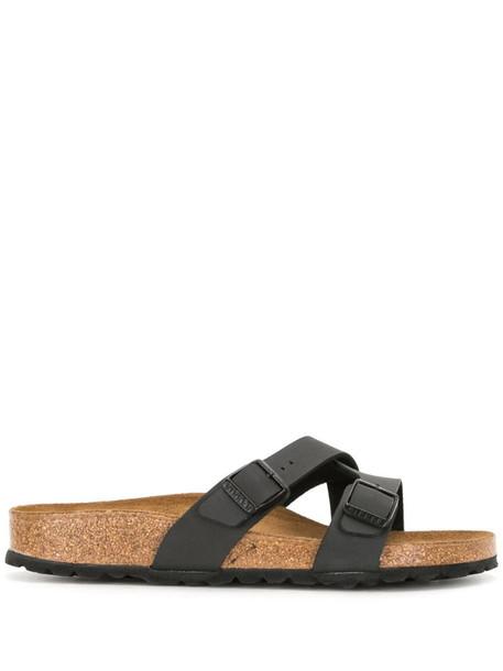 Birkenstock Yao cross-strap sandals in black