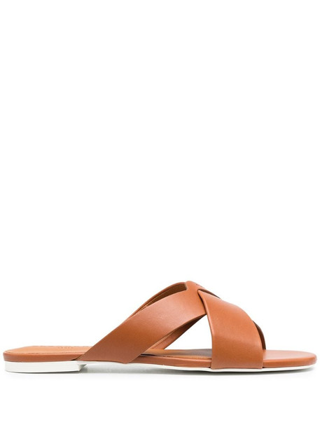 Clergerie Issy sandals in brown