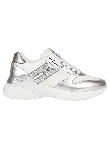 Hogan Active One Sneakers in silver / white
