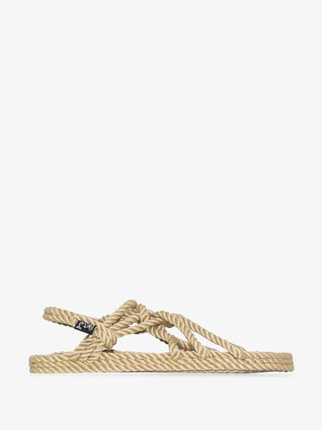 NOMADIC STATE OF MIND beige JC rope sandals