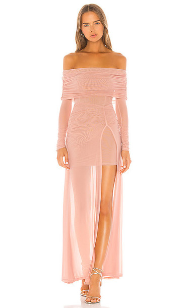 MAJORELLE Hampton Gown in Rose