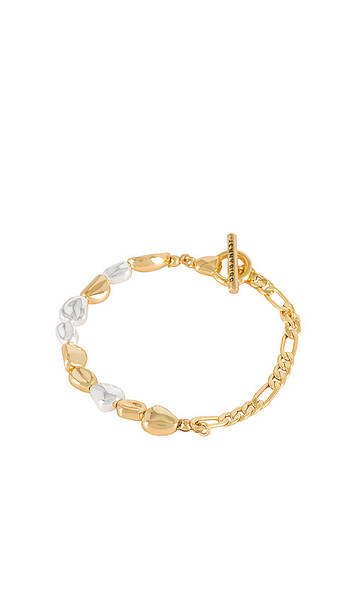 Jenny Bird Nevis Bracelet in Metallic Gold