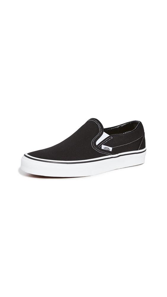 Vans UA Classic Slip On Sneakers in black