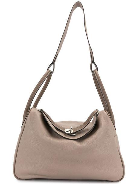 Hermès 2008 pre-owned Lindy 34 tote bag in grey