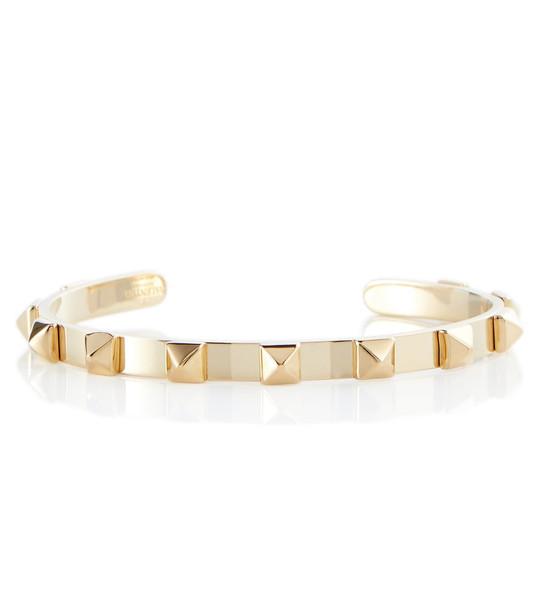 Valentino Rockstud cuff bracelet in gold