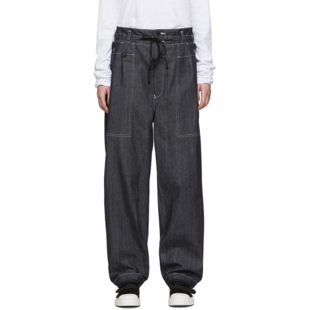 Ys Indigo SI-Zipper PK Jeans