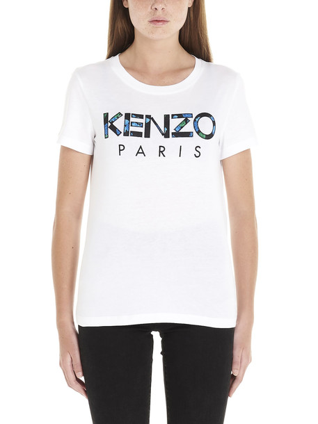 Kenzo kenzo Paris T-shirt in white