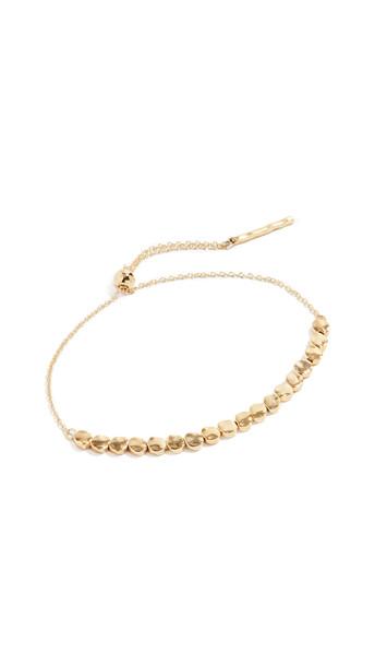 Gorjana Chloe Small Bracelet in gold / yellow