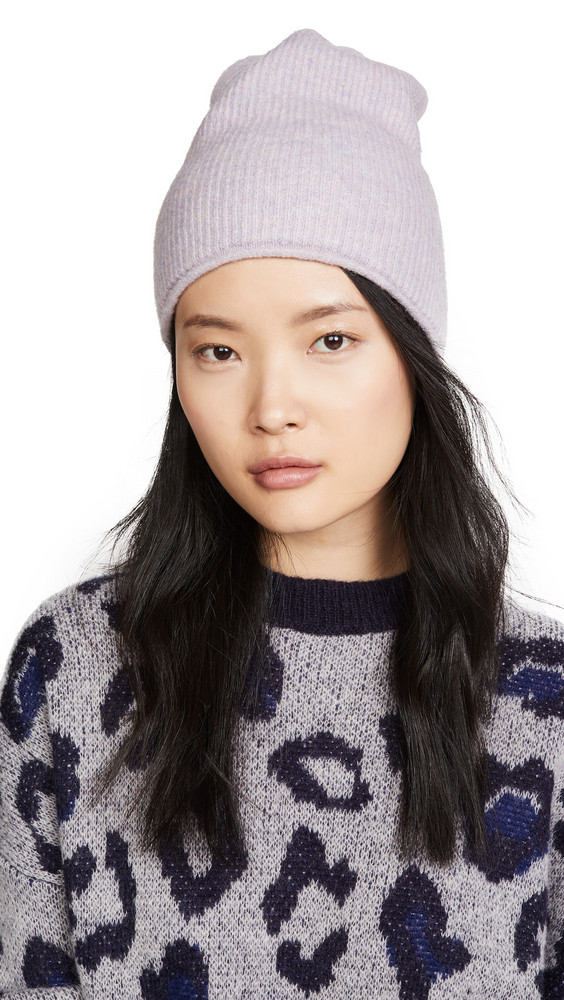 Madewell Kent Beanie Hat in lavender