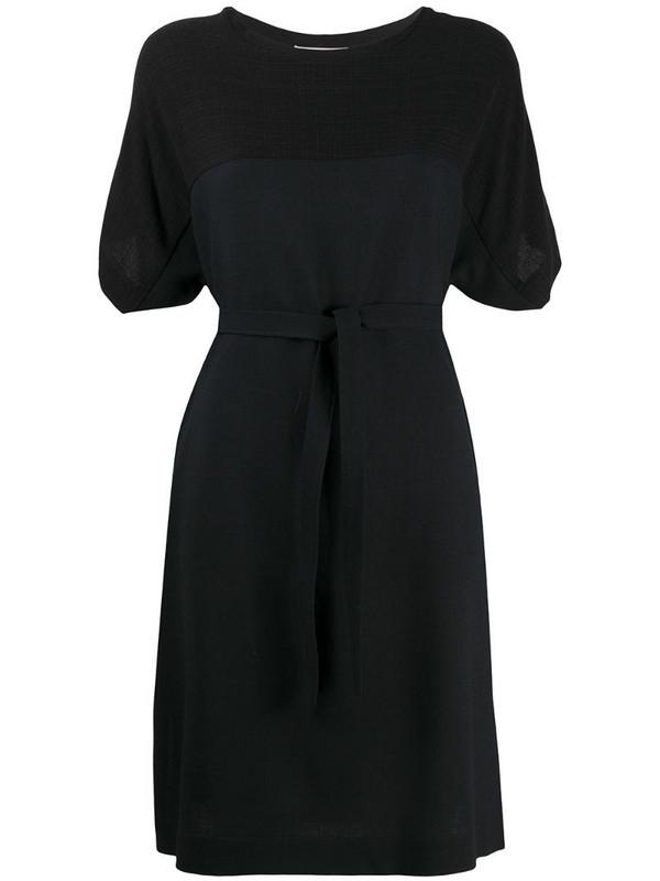 Stephan Schneider belted short dress in black