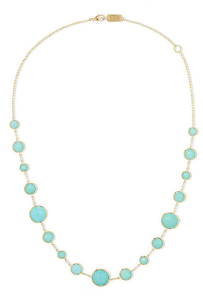 Ippolita - Lollipop Lollitini 18-karat Gold Turquoise Necklace