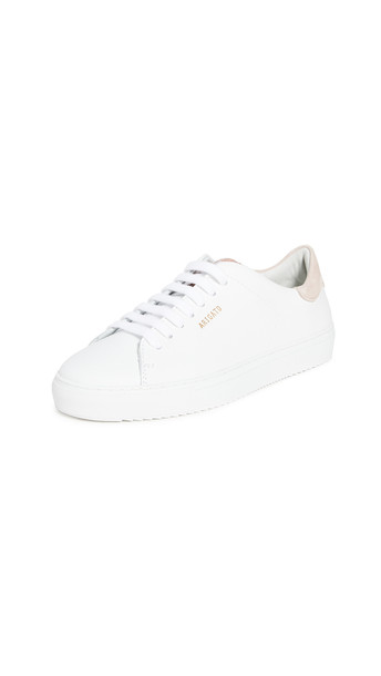 Axel Arigato Clean 90 Sneakers in pink / white