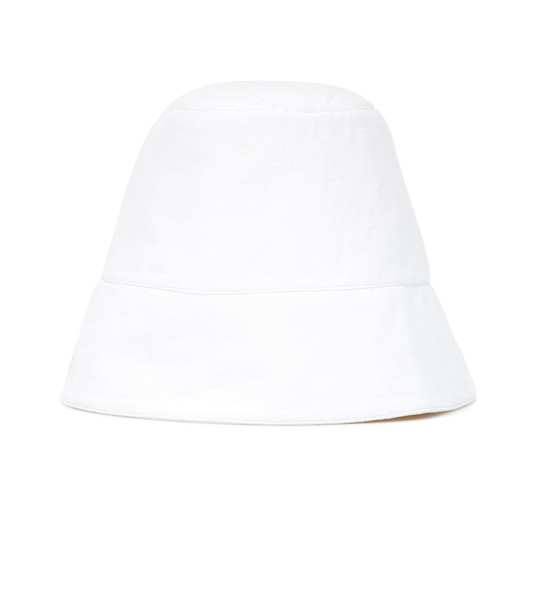Jil Sander Exclusive to Mytheresa – cotton, linen and silk hat in white