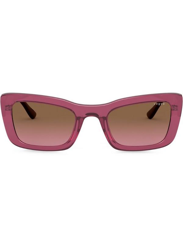 Vogue Eyewear cat-eye frame sunglasses in pink