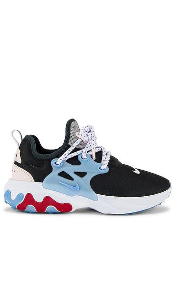 Nike React Presto Sneaker in Black