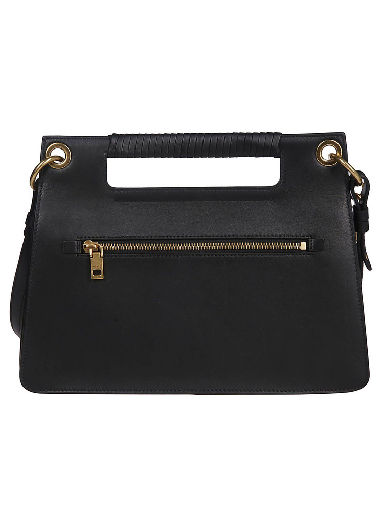 Givenchy Whip Stitch Shoulder Bag in black