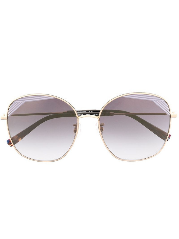MISSONI EYEWEAR oversized frame sunglasses in black