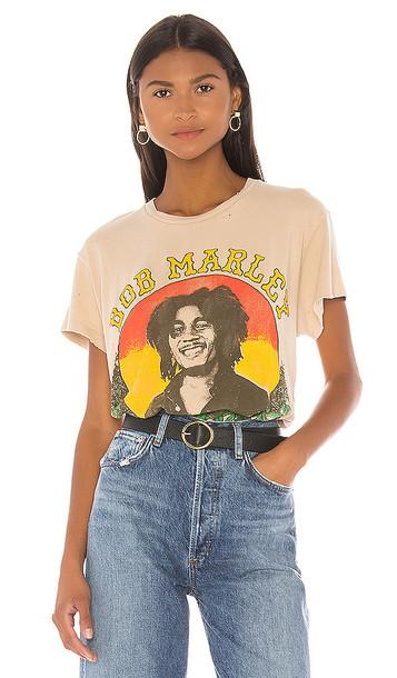 Madeworn Bob Marley Tee in Tan