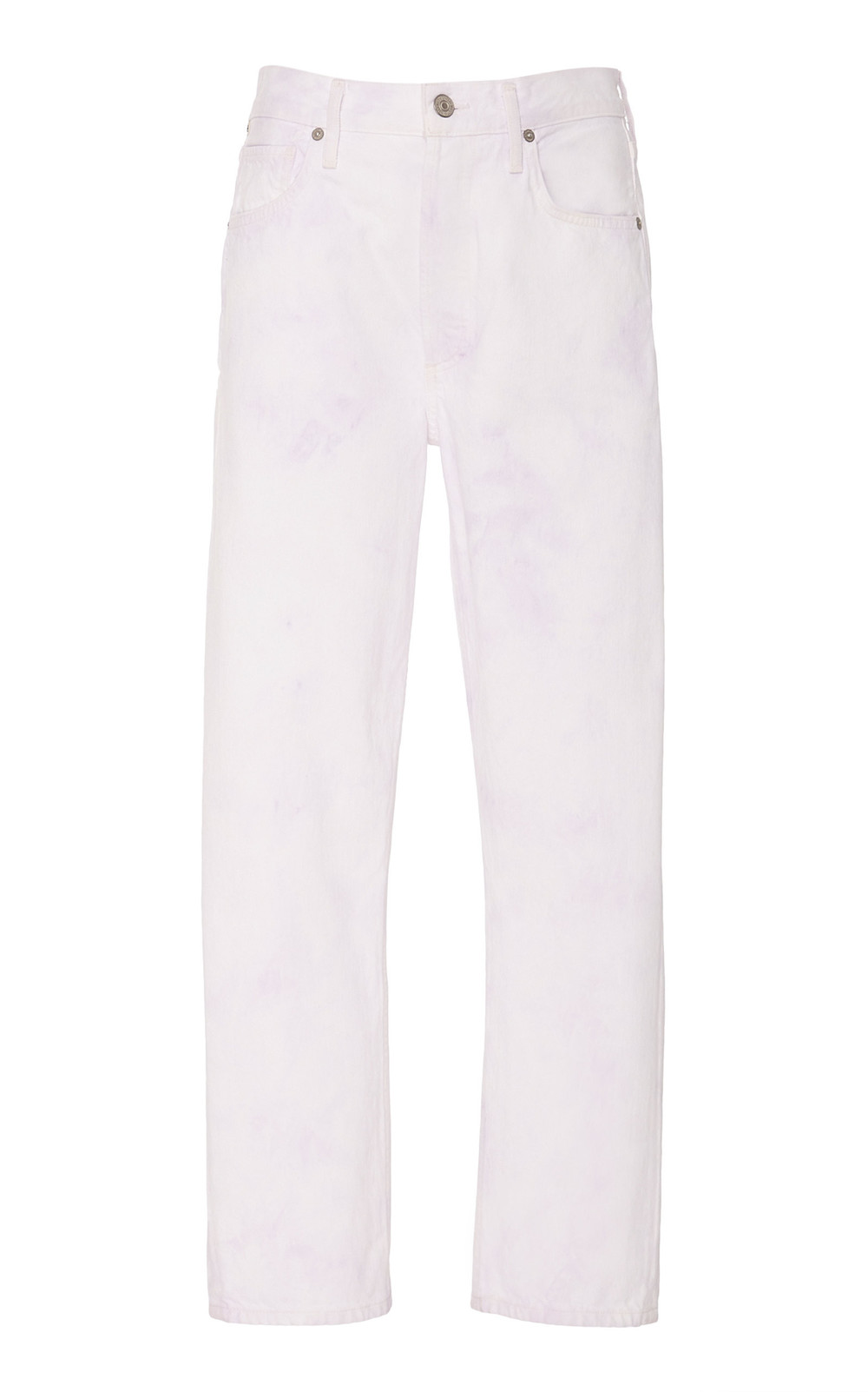 Citizens of Humanity Charlotte High-Rise Straight-Leg Jeans in multi
