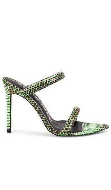 Alias Mae Dua Stiletto Mule in Green