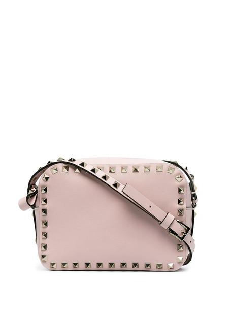 Valentino Garavani small Rockstud crossbody bag in pink