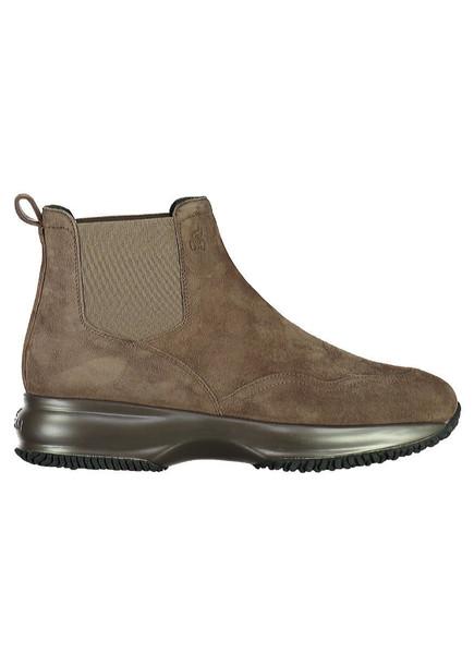 Hogan Interactive Suede Chelsea-boots in brown