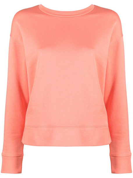 A.P.C. crew neck sweatshirt in pink