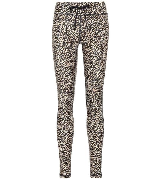 The Upside Leo Yoga leopard-print leggings