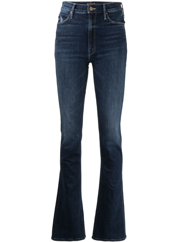 Mother Runaway bootcut jeans in blue