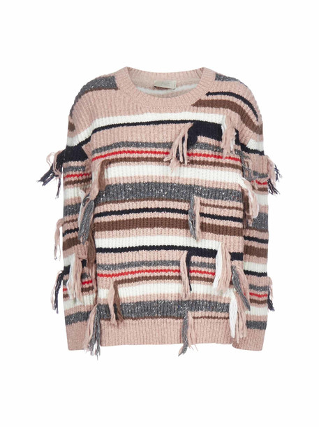 Maison Flaneur Sweater in rose