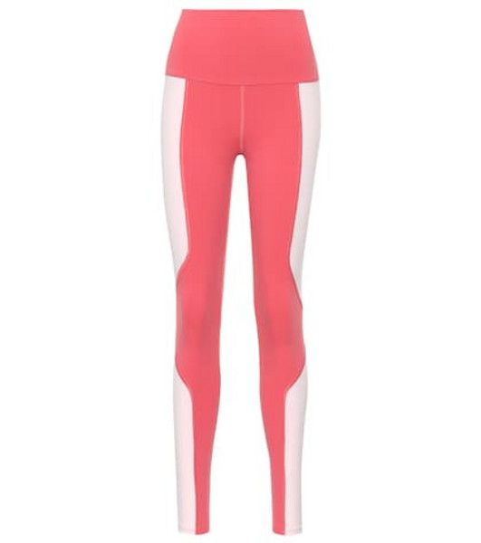 Live The Process Colorblocked leggings in pink