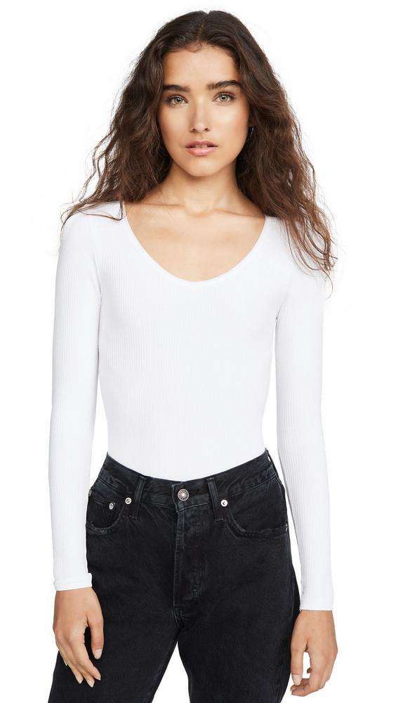 Yummie Aaliyah Bodysuit in white